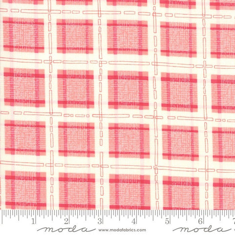 Moda Robin Pickens Abby Rose 48675 12 Rose Plaid With Ease By The Yard