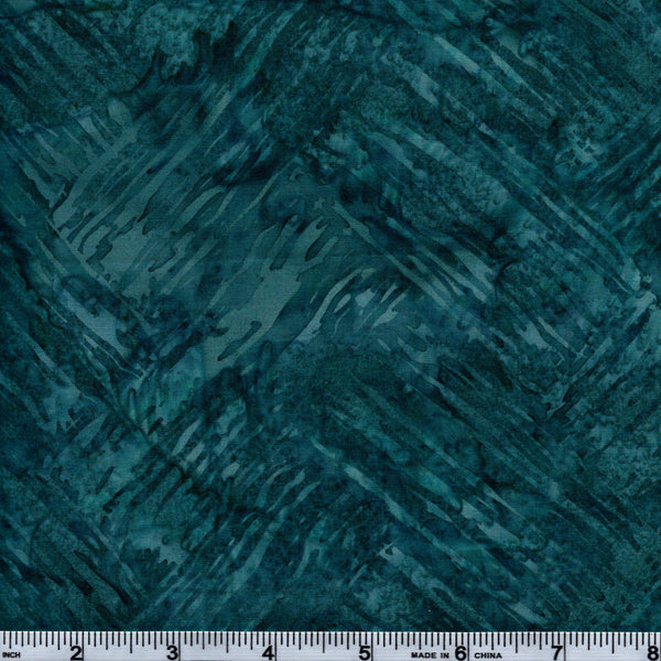 Hoffman Bali Batik BLU 5052 Cora Paint Strokes By The Yard