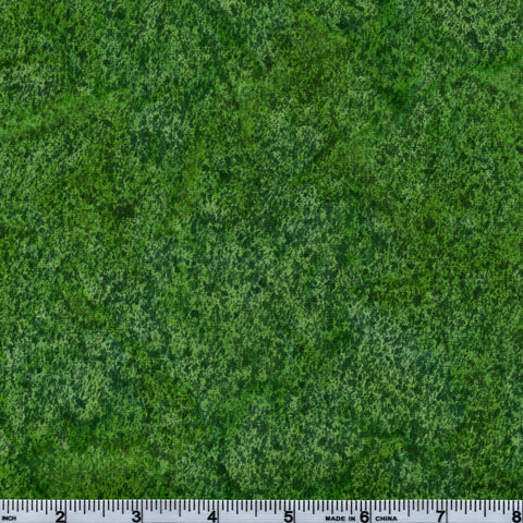 Hoffman Bali Batik GRN 5103 Avocado Turf By The Yard