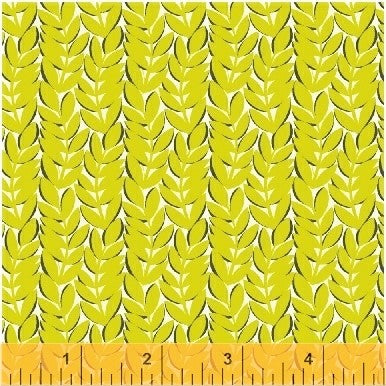 Windham Fantasy 51292 3 Chartreuse Kelp By The Yard