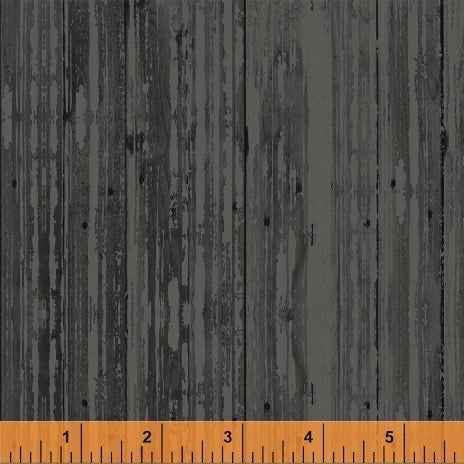 Windham Early Bird 51403 3 Charcoal Woodgrain By The Yard