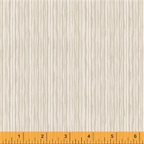 Windham Fat Cat 52273 1 Ivory Scratch Stripe By The Yard