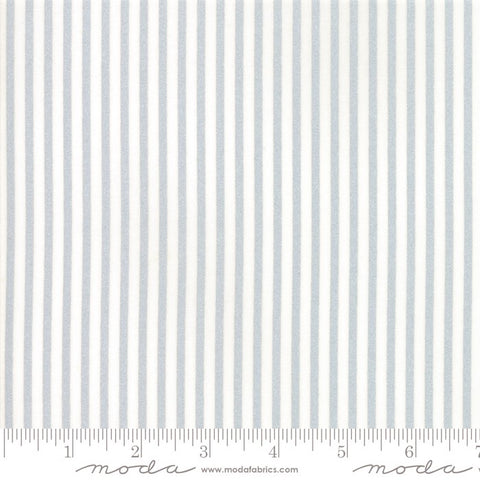 Moda Metallic Vintage Holiday 55168 18 Candy Stripe Silver By The Yard