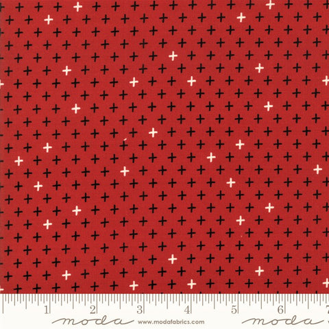 Moda Merry Starts Here 5736 11 Twinkle Red By The Yard