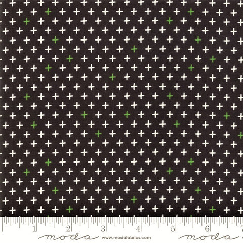 Moda Merry Starts Here 5736 13 Twinkle Black By The Yard