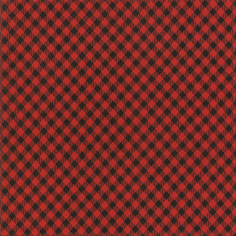 Moda Branded 5782 11 Apple Red Picnic Check By The Yard