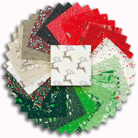 "Moda Pre-Cut 42 Piece 5"" Charm Squares - Northern Light"