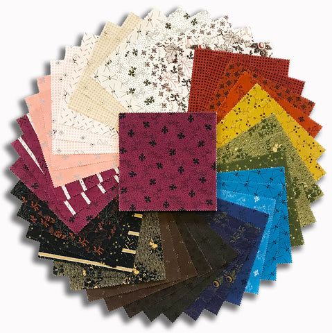 "Kaufman Pre-Cut 42 Piece 5"" Charm Squares 917 42 - Mill Pond"