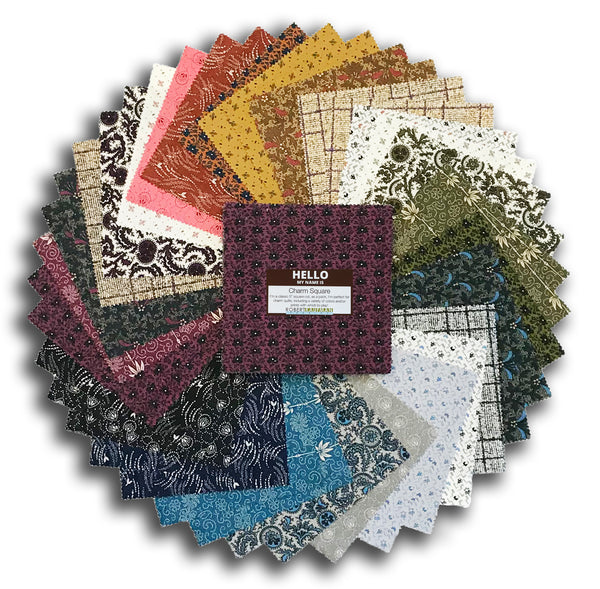 "Kaufman Pre-Cut 42 Piece 5"" Charm Squares 826 42 - Making Memories"