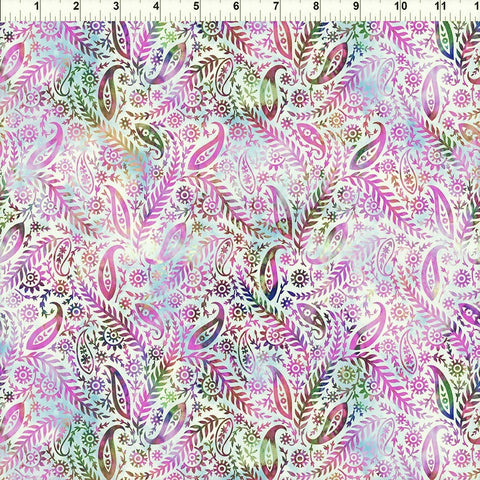 In The Beginning Floragraphix V 5FGE 2 Lavender Paisley By The Yard