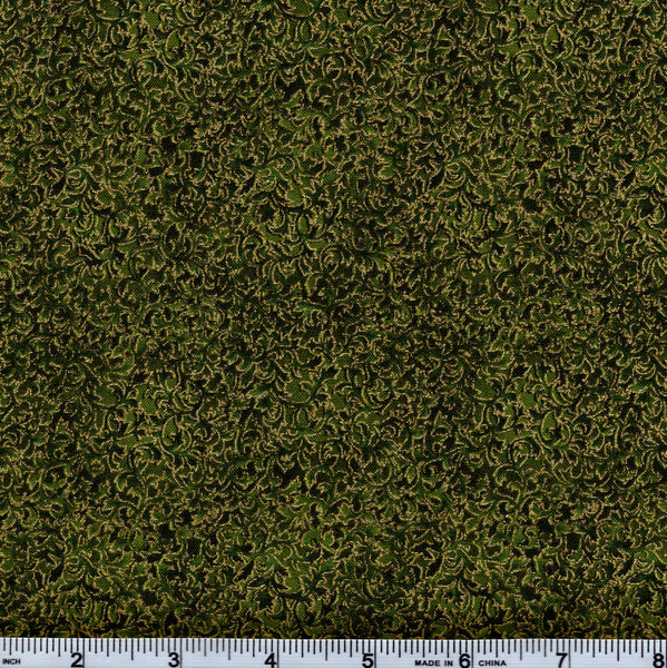 Kaufman Fusions 11 Metallic 6644 49 Olive By The Yard