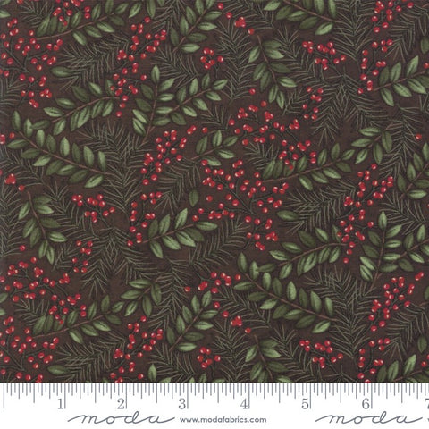 Moda Winter Manor 6772 16 Twig Winter Greens By The Yard