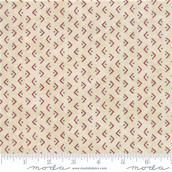 Moda Winter Manor 6775 12 Buff Regiment By The Yard