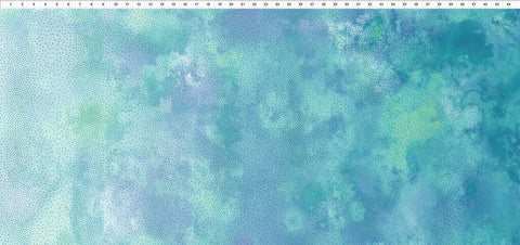 In The Beginning Fabrics Diaphanous 6ENC 2 Teal Ombre Dots By The Yard