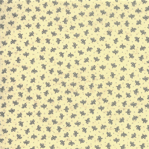 Moda Home 7014 13 Cream Falling Leaves By The Yard
