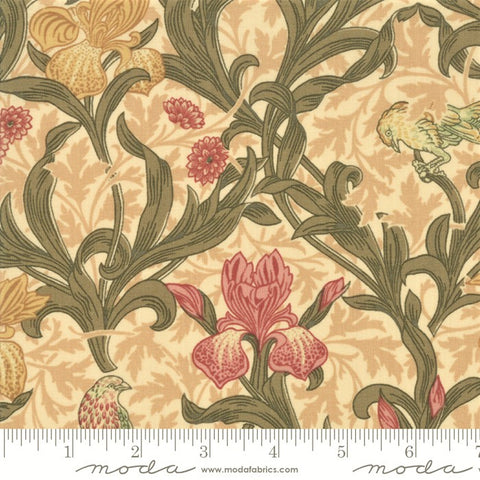 Moda May Morris Studio 7340 11 Cream Iris By The Yard