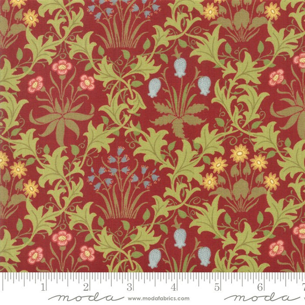Moda May Morris Studio 7341 13 Crimson Celadine By The Yard