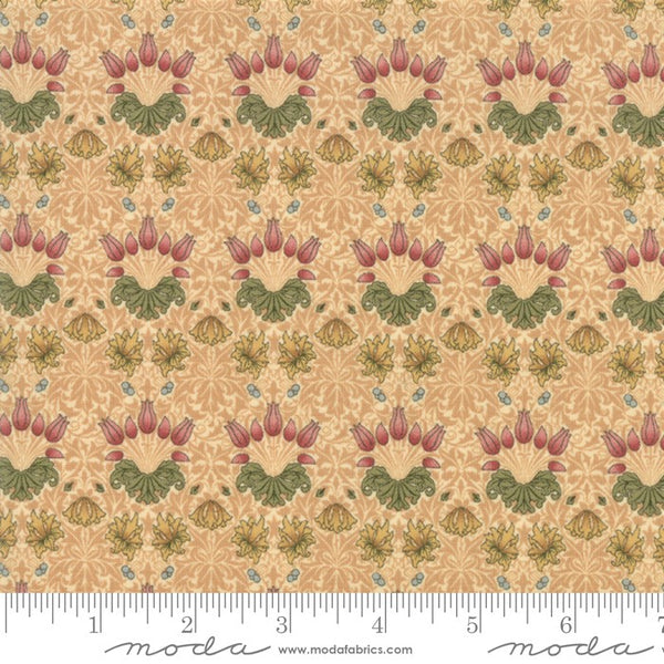 Moda May Morris Studio 7342 11 Cream Tulip By The Yard