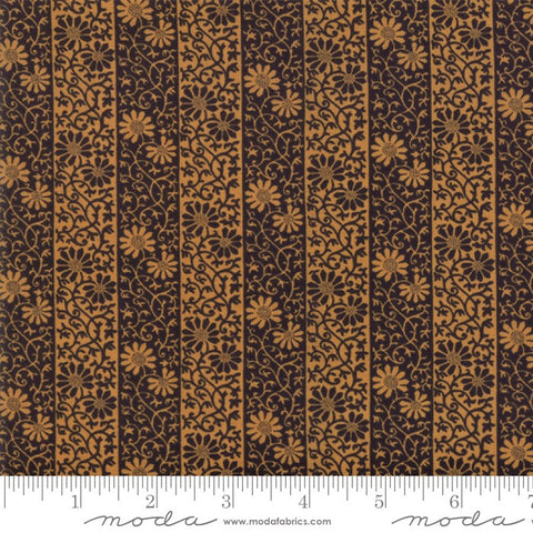 Moda May Morris Studio 7343 23 Ebony Stripe Twill By The Yard