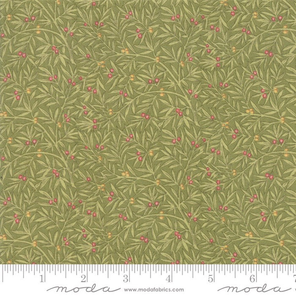 Moda May Morris Studio 7345 14 Sage Dining Room Decoration By The Yard