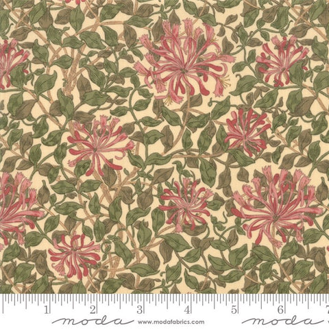 Moda May Morris Studio 7347 12 Cream Honeysuckle By The Yard