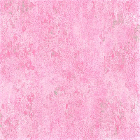 Hoffman Metallic Luxe 7690 12S Pink/Silver Weathered Solid By The Yard