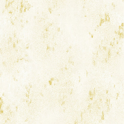 Hoffman Metallic Luxe 7690 20G Natural/Gold Weathered Solid By The Yard