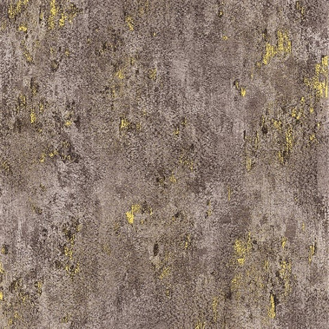Hoffman Metallic Luxe 7690 80G Taupe/Gold Weathered Solid By The Yard