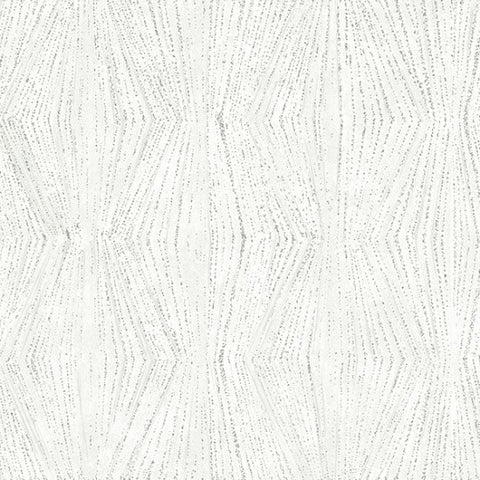Hoffman Metallic Tree Traditions 7728 176 Ice/Silver Frost Trails By The Yard