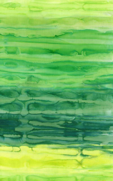 Anthology Rainfall Ombre Batik 800Q 7 Green By The Yard
