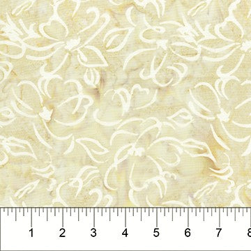 Banyan Batiks Banyan Classics 81200 30 Beige Flower By The Yard