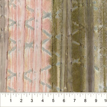 Banyan Batiks Brush Strokes 81230 80 Sea Shell Watercolor Stripes By The Yard
