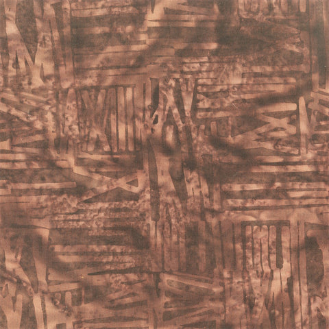 Anthology Bali Batiks 817Q 13 Chocolate Scratch By The Yard