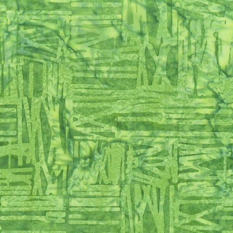 Anthology Bali Batiks 817Q 5 Green Scratch By The Yard