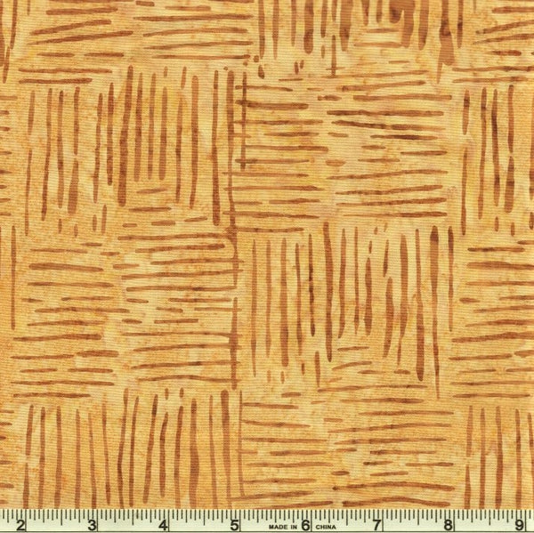 Anthology Batik Weave 822Q 6 Mustard Weave By The Yard