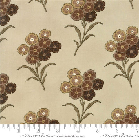 Moda Baltimore Blues 8342 13 Beige Wild Asters By The Yard