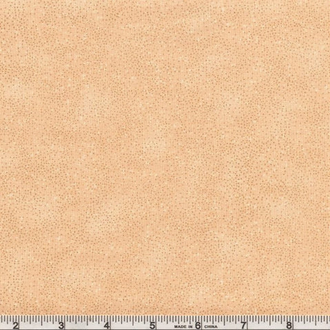 Hoffman Metallic Brilliant Blender 8555 33G Natural/Gold Pin Dots By The Yard