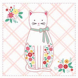 "Riley Blake Rose Lane P8677 Cat Panel 35"" PANEL By The PANEL (not strictly by the yard)"