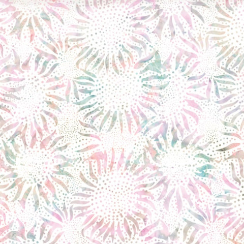 Hoffman Bali Batiks 884 576 Petit Four Pink Abstract Sunflowers By The Yard