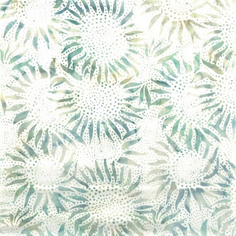 Hoffman Bali Batiks 884 581 Bluegrass Abstract Sunflowers By The Yard