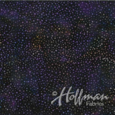 Hoffman Bali Batik 885 N45 New Grape Paint Drips By The Yard
