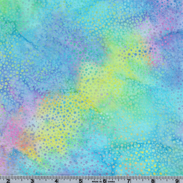 Hoffman Bali Batik 885 135 Pastel Passion Paint Drips By The Yard
