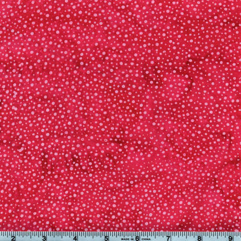 Hoffman Bali Batik 885 175 Strawberry Paint Drips By The Yard