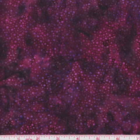 Hoffman Bali Batik 885 405 Wildberry Paint Drips by the yard