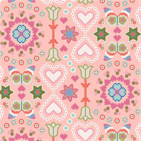 Art Gallery Fabrics Playroom 89800 A Happy Life By The Yard