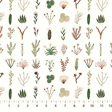 FIGO Fabrics Desert Wilderness 90099 10 Desert Flora By The Yard