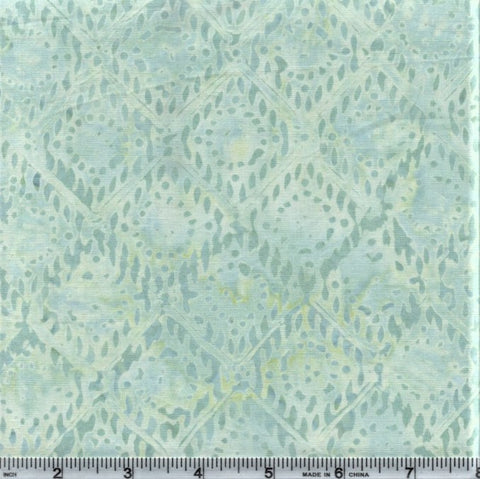 Anthology Batik 9567 Baby Blue Abstract Diamonds By The Yard