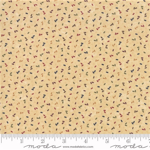 Moda Kansas Troubles Favorites 2019 - 9601 11 Multi/Tan Old Fashioned Confetti By The Yard