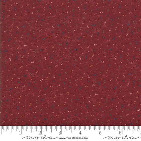 Moda Kansas Troubles Favorites 2019 - 9601 13 Red Old Fashioned Confetti By The Yard