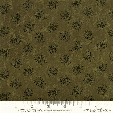 Moda Kansas Troubles Favorites 2019 - 9604 15 Green Sunflower Song By The Yard